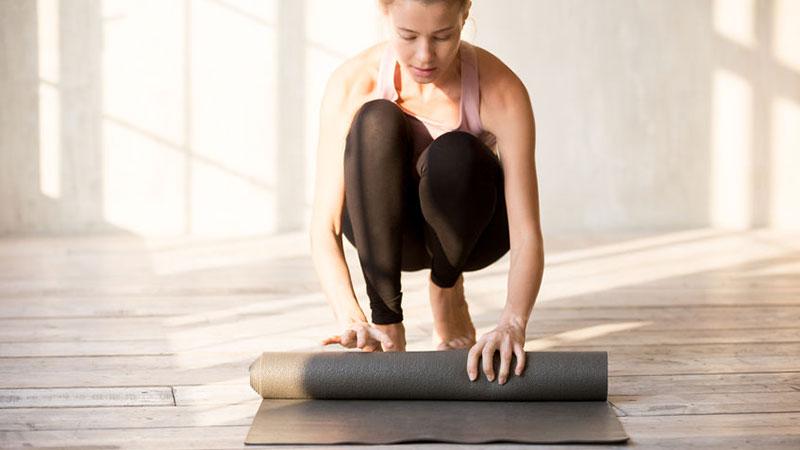Yogatasche für die Yogamatte