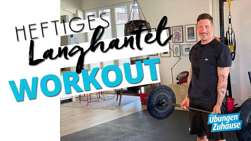Langhantel Workout für Fortgeschrittene für Zuhause mit Coach Joe