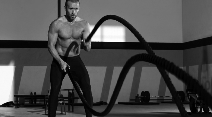 Battle Ropes fürs Home Gym