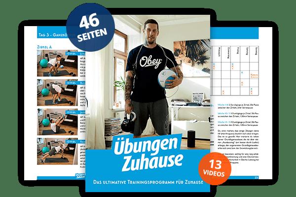 Vorschau – Das Ultimative-Trainingsprogramm für Zuhause mit zahlreichen Übungen zum Bauchmuskeltraining