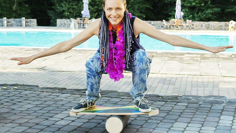 Balance Board - maximaler Spaß beim propriozeptiven Training