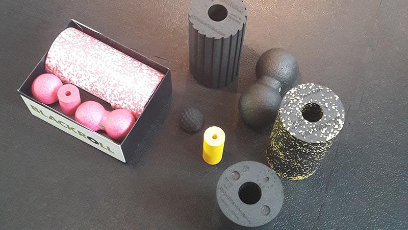 Faszienrolle Set kaufen - Blackroll Blackbox Med Set