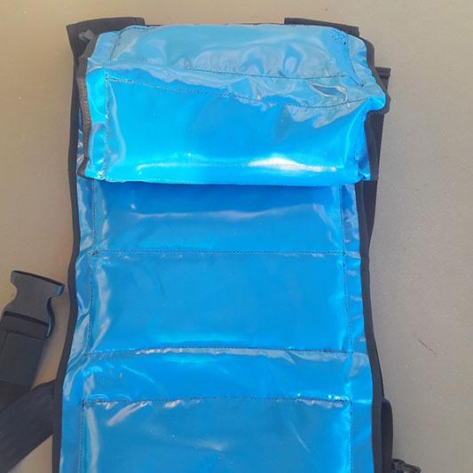PVC Innenseite, abwischbar hygienisch