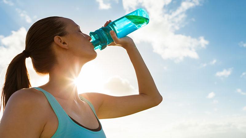 fitness basics - ausreichend trinken