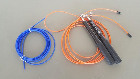 Sportastisch Springseil mit zwei Seilen