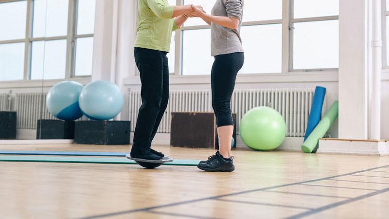 Wackelbrett - propriozeptives Training mit Wackelbrett, Balanceboard, Therapiekreisel und Co