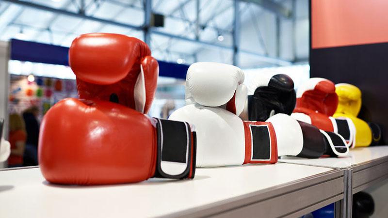 Boxausrüstung - Boxhandschuhe, Boxsack, Schutzausrüstung