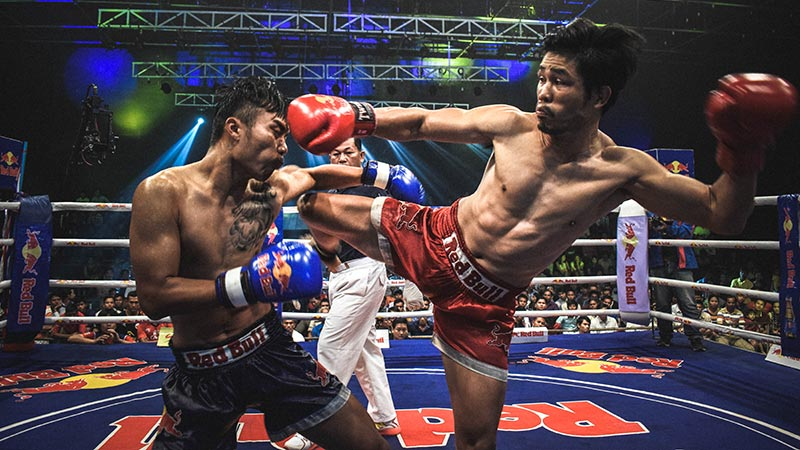 Twins Boxhandschuhe Thai Boxen