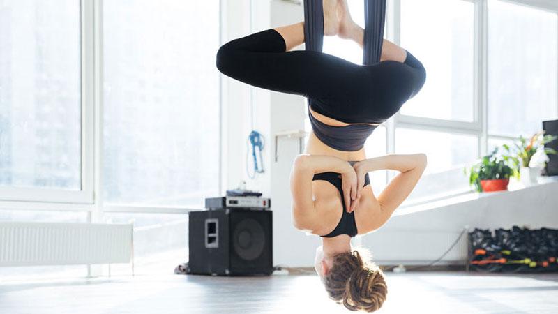 Aerial Yoga Zuhause