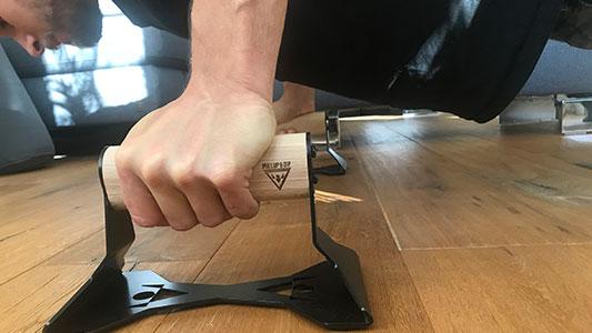PullUp & Dip Liegestützgriffe entlasten deine Handgelenke