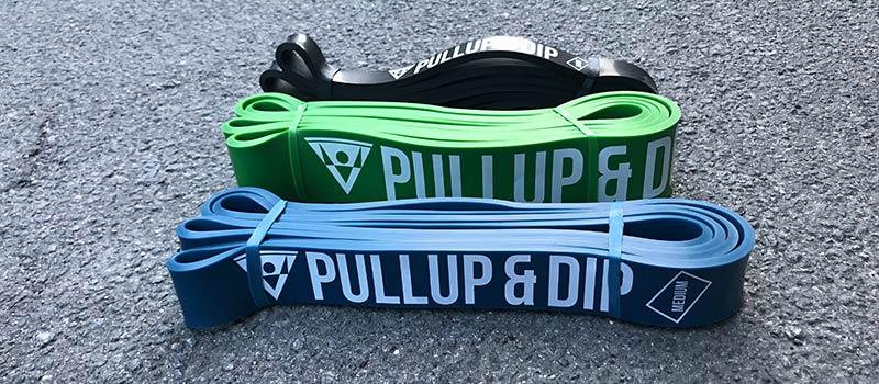 Widerstandsbänder Pullup & Dip