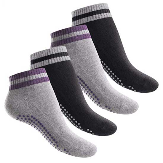 Celodoro Footstar Yoga Pilates Fitness-Socken mit Antirutsch- Massage-Sohle bei amazon kaufen