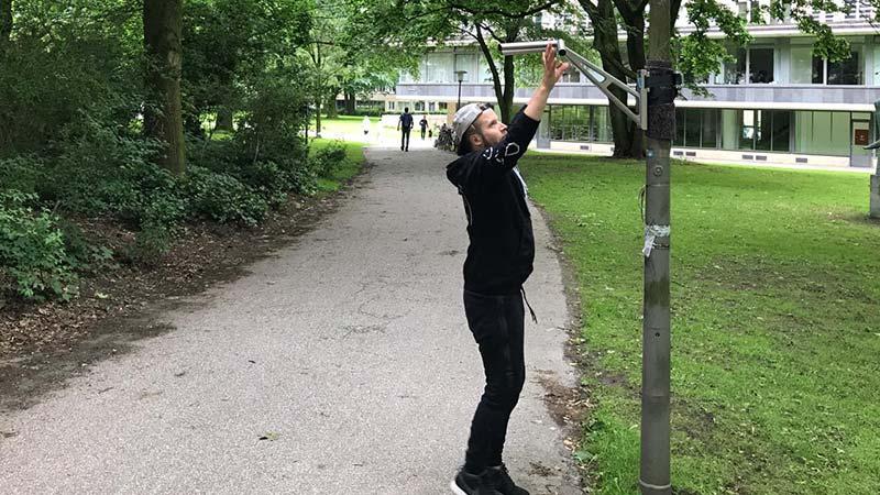 outdoor Klimmzugstange - Klimmzüge draußen trainieren