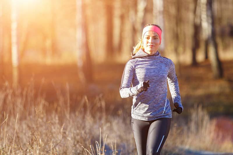 Laufen Zwiebelschalenprinzip