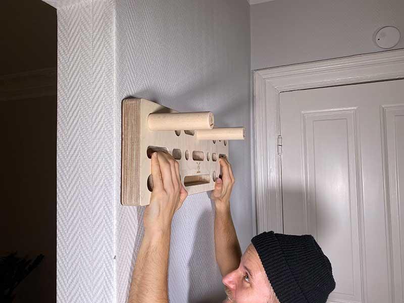 Kasirock Comboboard Kombination aus Pegboard und Fingerboard