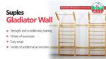 Suples Gladiator Wall – Premium-Sprossenwand die alles möglich macht