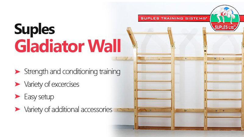 Suples Gladiator Wall - vielleicht die beste Sprossenwand