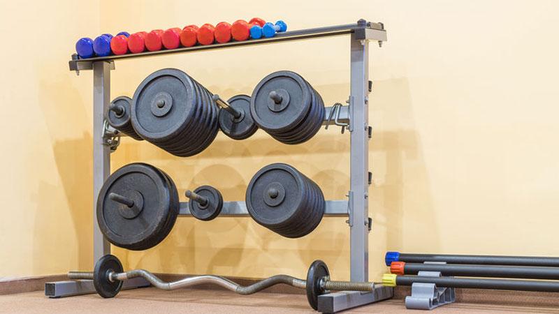 Hantelständer fürs Home Gym