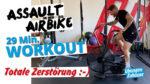 Airbike Workout – HIIT Cardio Zirkel mit dem Assault Airbike
