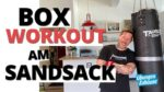 13 Minuten Boxsack Workout mit Coach Joe