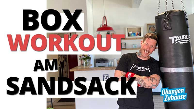 Box Workout für Zuhause mit Coach Joe