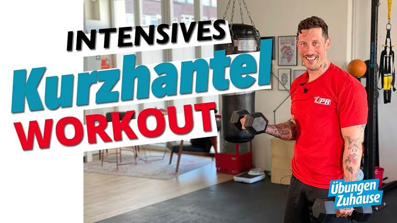 intensives Kurzhantel Workout für Zuhause mit Coach Joe