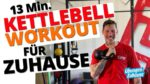 13 Minuten Kettlebell Workout – Functional Training