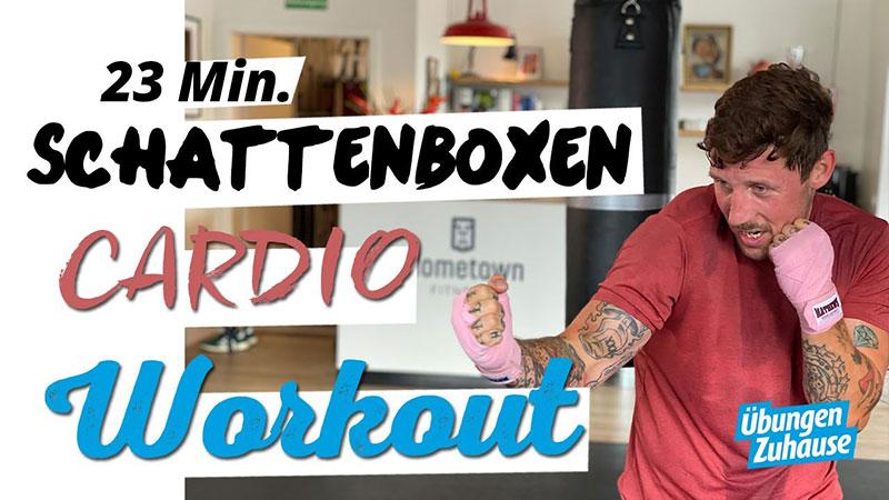 Schattenboxen Workout mit Cardio Komponente