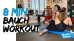 8 Minuten Bauch Workout – Bauchmuskeltraining zum Mitmachen