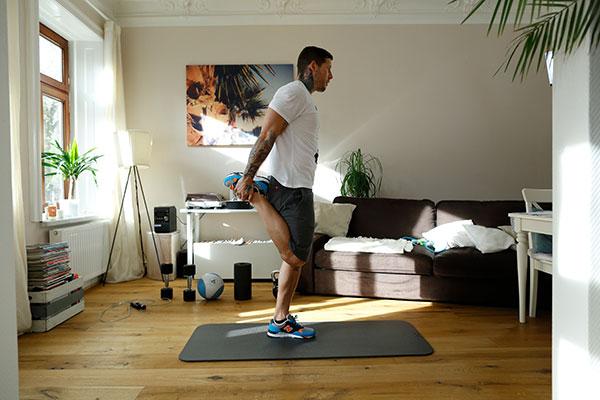 Beinstrecker Stretching Übung